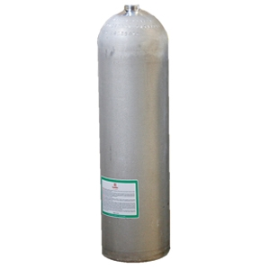 11 LITRE ALUMINIUM CYLINDER - NATURAL FINISH